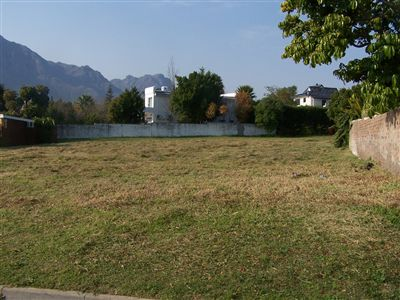 Vacant Land for sale in Paradyskloof