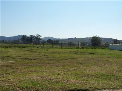 Vacant Land for sale in Stellenbosch