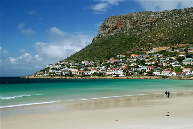 Fish Hoek beach south