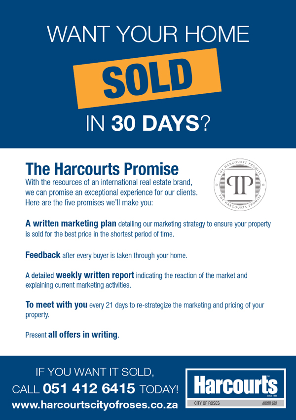The Harcourts Promise