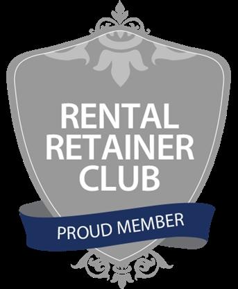 Proud Member of the Rental Retainer Club