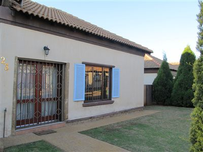 Witbank, Blancheville Property  | Houses For Sale Blancheville, Blancheville, Townhouse 3 bedrooms property for sale Price:1,040,000