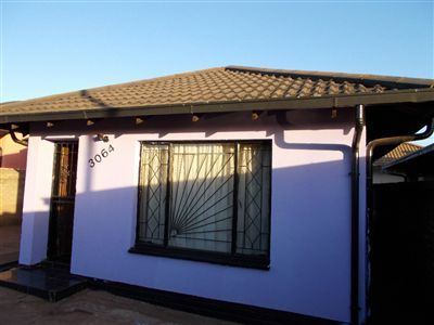 Soweto, Protea North Property    Houses For Sale Protea North, Protea North, House 3 bedrooms property for sale Price:540,000