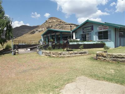 Commercial for sale in Clarens