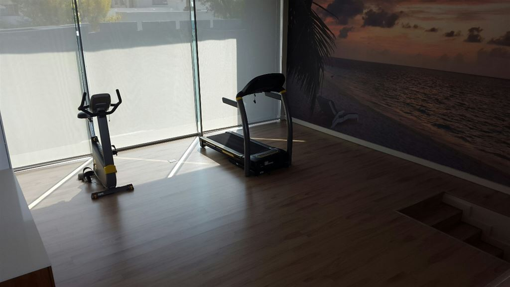 Gym with state of the art training equipment