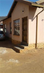 Rustenburg, Tlhabane West Property  | Houses To Rent Tlhabane West, Tlhabane West, House 3 bedrooms property to rent Price:,  5,20*