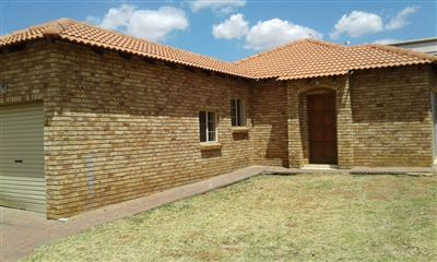 Rustenburg, Waterval East Property  | Houses To Rent Waterval East, Waterval East, Townhouse 3 bedrooms property to rent Price:,  6,50*