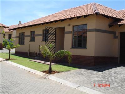 Rustenburg, Cashan & Ext Property    Houses To Rent Cashan & Ext, Cashan & Ext, Townhouse 3 bedrooms property to rent Price:,  7,00*