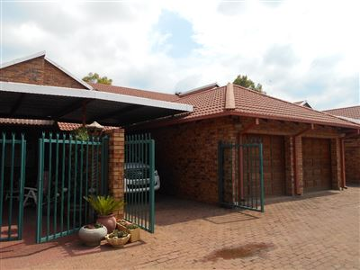Hartbeespoort, Ifafi Property  | Houses To Rent Ifafi, Ifafi, Townhouse 3 bedrooms property to rent Price:,  8,00*