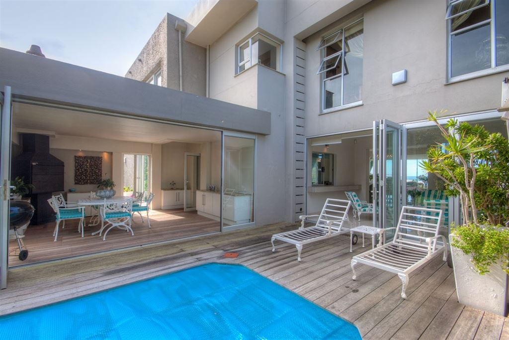 This Three Bedroom Home with a Swimming Pool is Right Across the Road from the Beach in Port Alfred