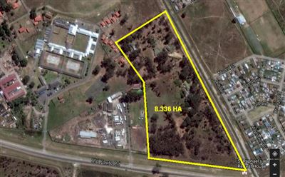 Vacant Land for sale in Eersterivier