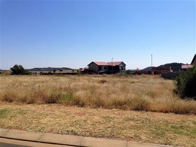 Bloemfontein, Wild Olive Estate Property  | Houses For Sale Wild Olive Estate, Wild Olive Estate, Vacant Land  property for sale Price:750,000