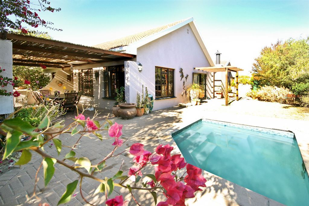 If you have a family, we have the house in Somerset West!