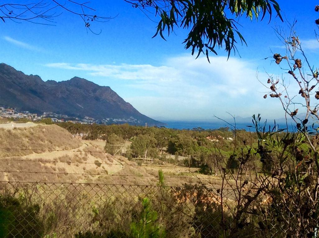 Views toward False Bay