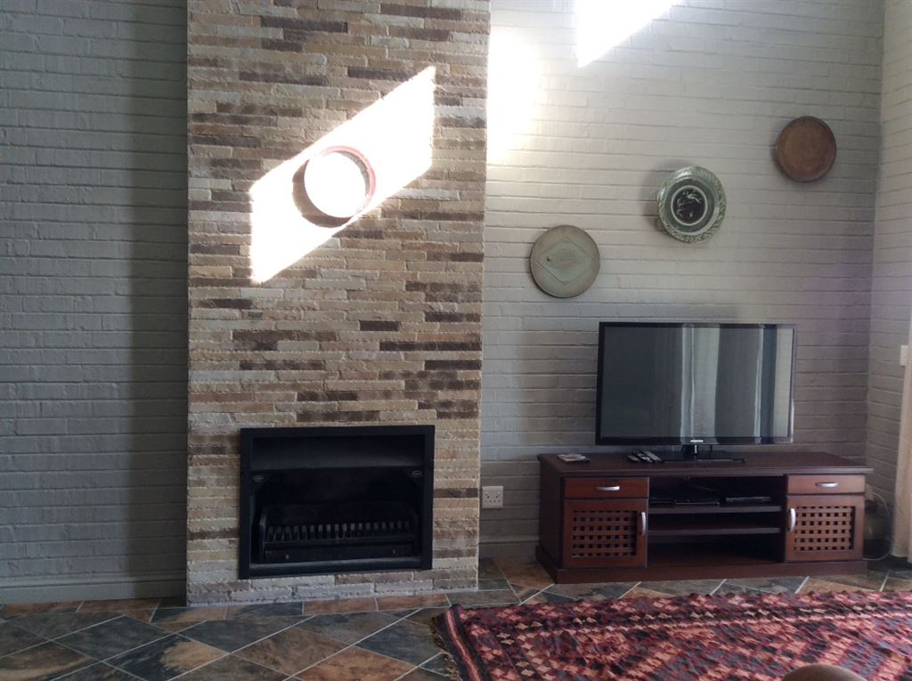 Fireplace in granny flat