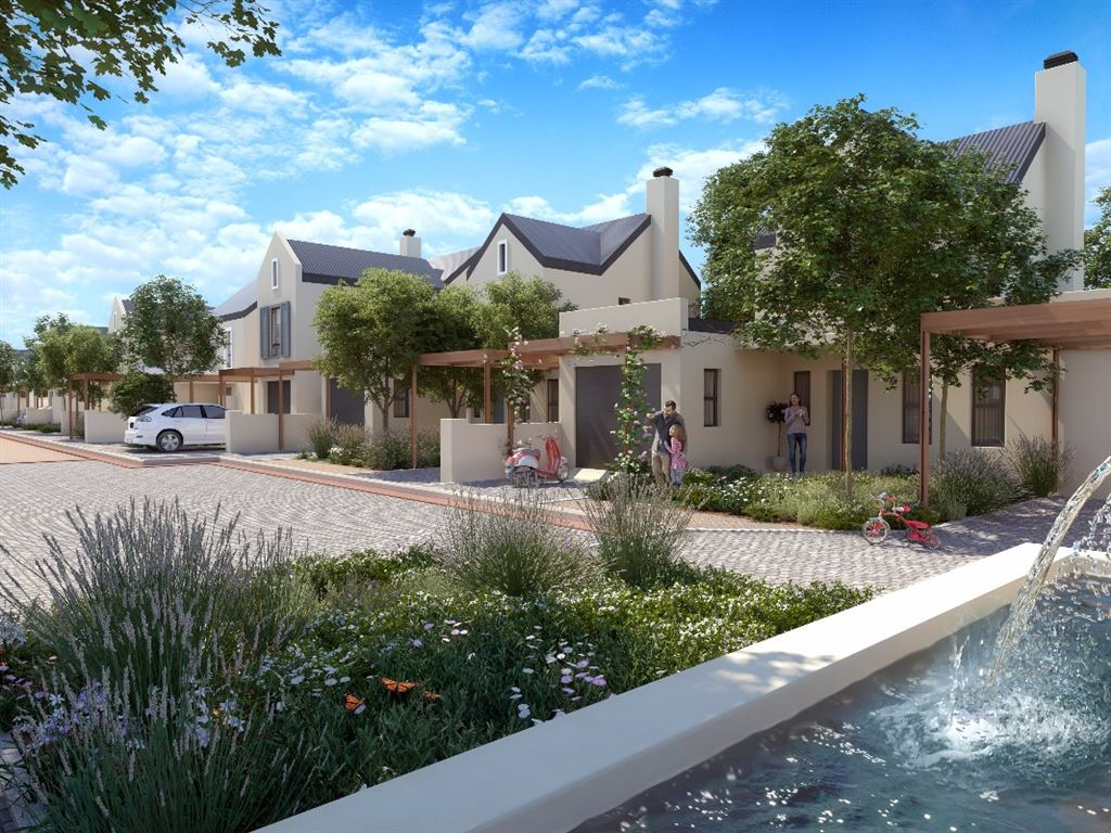 Modern home in green Lifestyle Estate, Somerset West