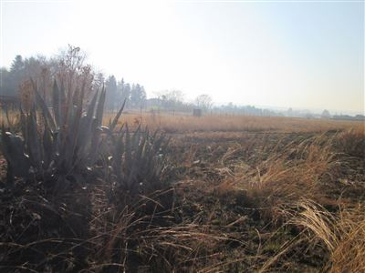 Vacant Land for sale in Raslouw Ah