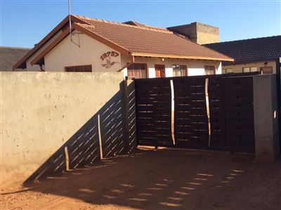 Soweto, Protea Glen & Ext Property  | Houses For Sale Protea Glen & Ext, Protea Glen & Ext, House 3 bedrooms property for sale Price:650,000
