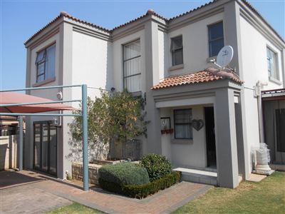Potchefstroom, Baillie Park And Ext Property  | Houses For Sale Baillie Park And Ext, Baillie Park And Ext, Townhouse 3 bedrooms property for sale Price:1,195,000