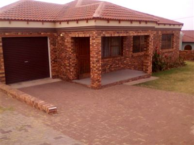 Witbank, Die Heuwel & Ext Property    Houses To Rent Die Heuwel & Ext, Die Heuwel & Ext, House 3 bedrooms property to rent Price:,  7,70*
