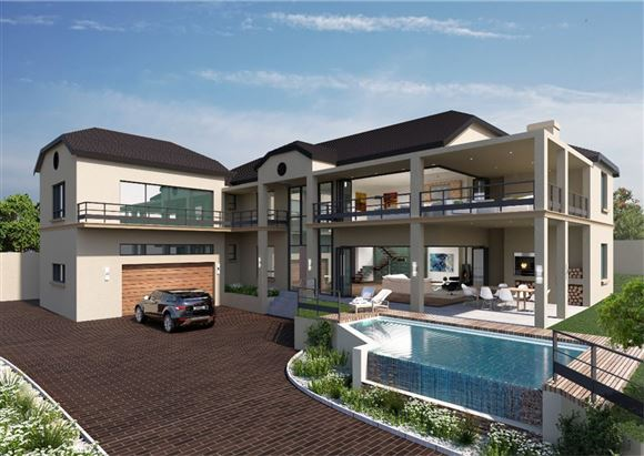 Exquisite Family Home Under Construction in Somerset West