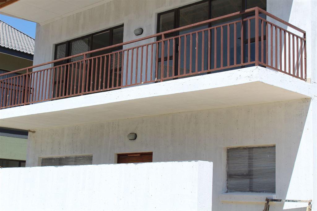 Balcony view looks unto open space
