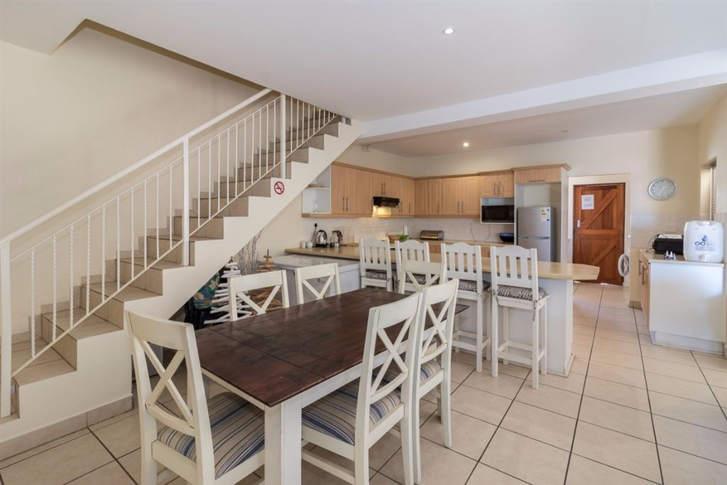 Town House With Beautiful Sea Views In Port Alfred, open plan living area of this spacious unit.