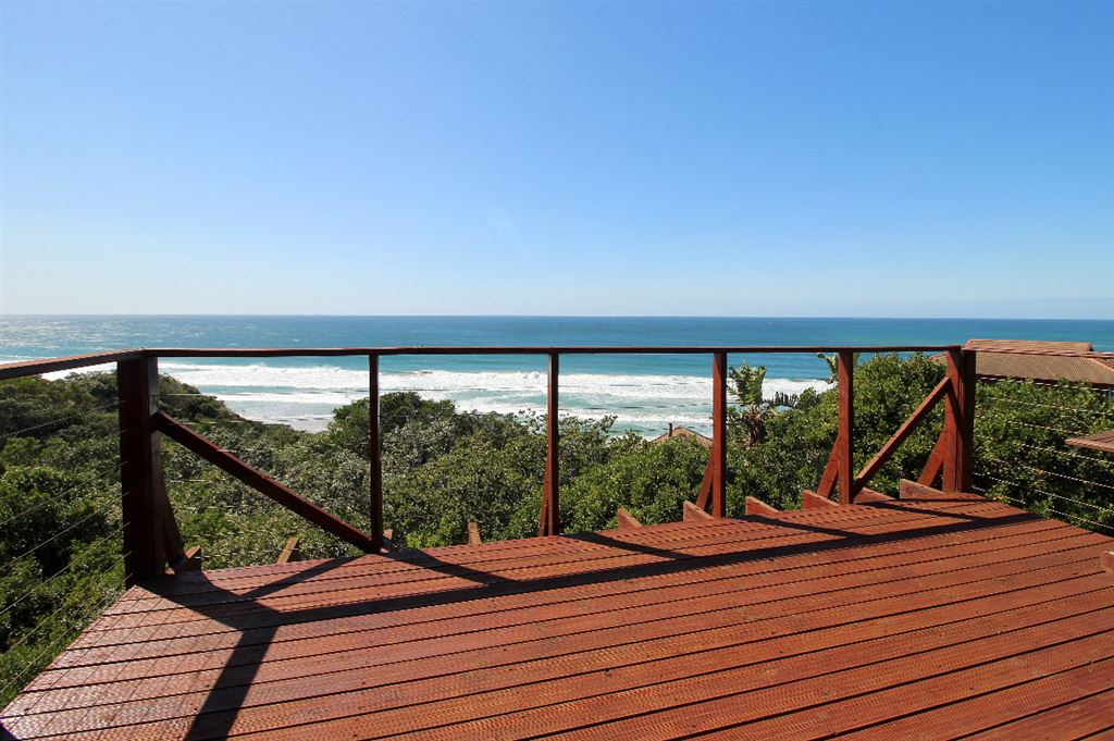 Breath taking sea views from the luxurious lodge on the top of the dune
