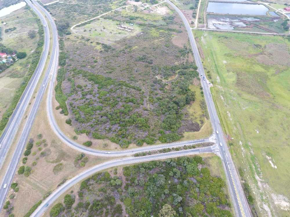 Arial pic showing N2 on and off ramps