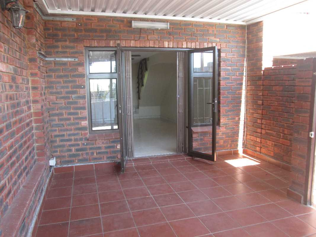 Entrance to the unit with large under-cover veranda in front