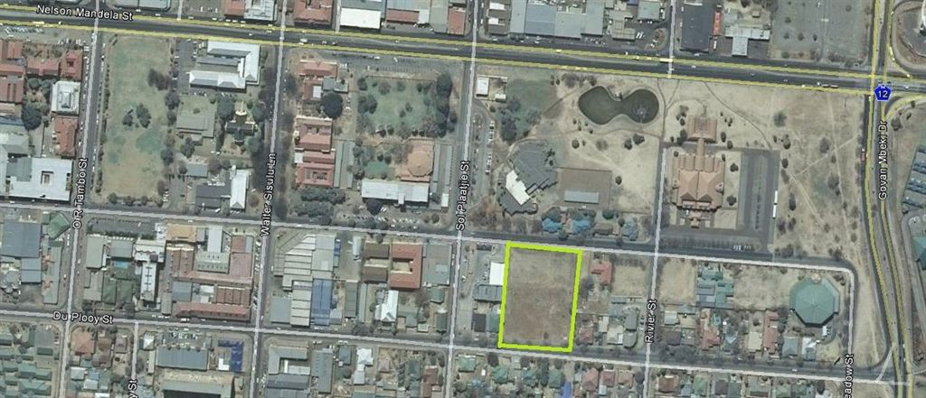 6809m² of land zoned business 3
