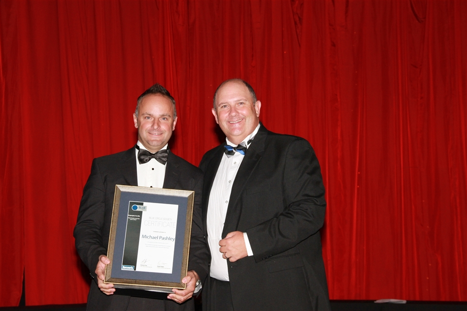 Michael Pashley number one agent in Harcourts South Africa 2015