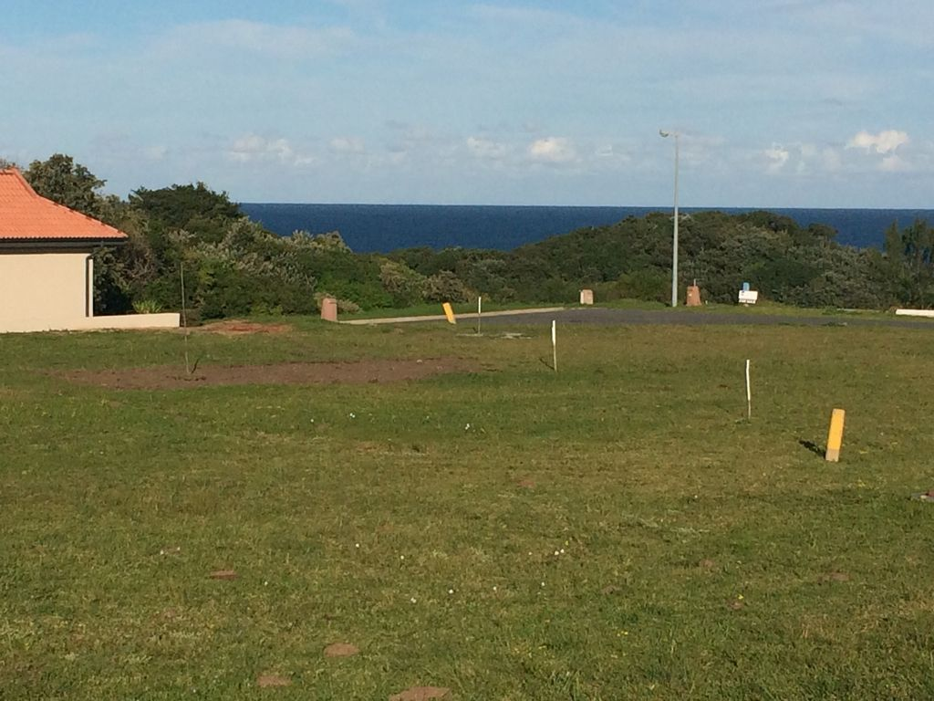 Seaward view from the plot - Easterly