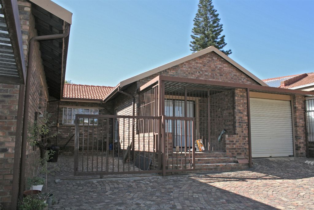4th bedroom of main house, converted from garage