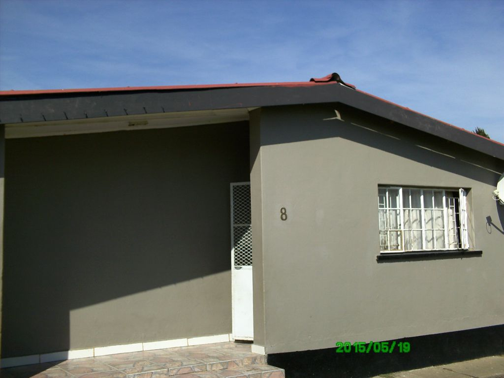 Newly painted front view