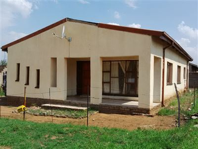 Parys, Tumahole Property  | Houses For Sale Tumahole, Tumahole, House 3 bedrooms property for sale Price:300,000