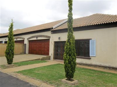 Witbank, Blancheville Property  | Houses For Sale Blancheville, Blancheville, Townhouse 3 bedrooms property for sale Price:980,000