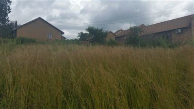 Witbank, Die Heuwel And Ext Property  | Houses For Sale Die Heuwel And Ext, Die Heuwel And Ext, Vacant Land  property for sale Price:324,000
