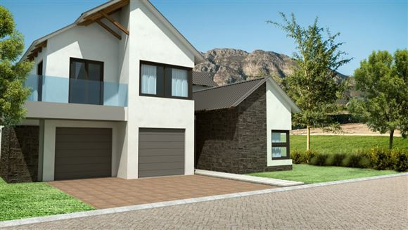 L' Afrique Verte - Type D residential estate in Franschhoek