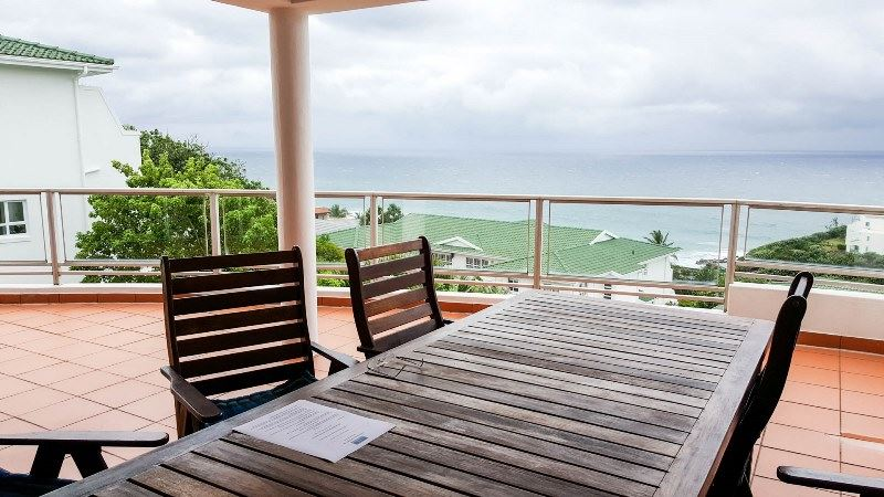 Great views from this large balcony