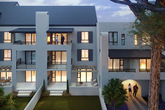Somerset West apartment living in new Lifestyle Estate