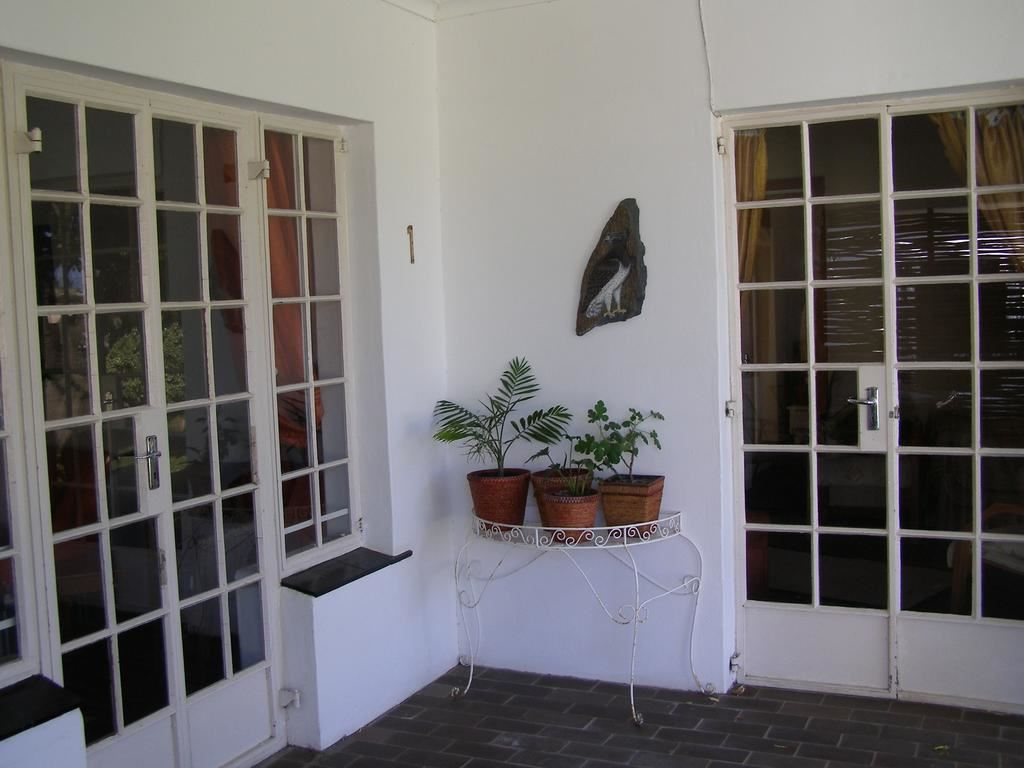 Beautiful French doors leading off to the swimming pool and well established garden