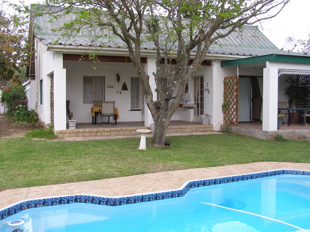 self contained cottage over-looking the swimming pool