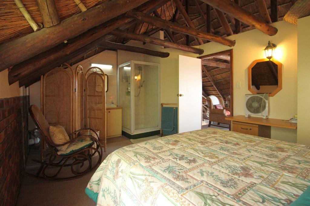 Bedroom 4 of the lodge is en suite