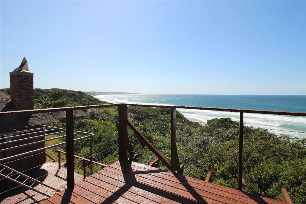 View from the upper deck of the lodge