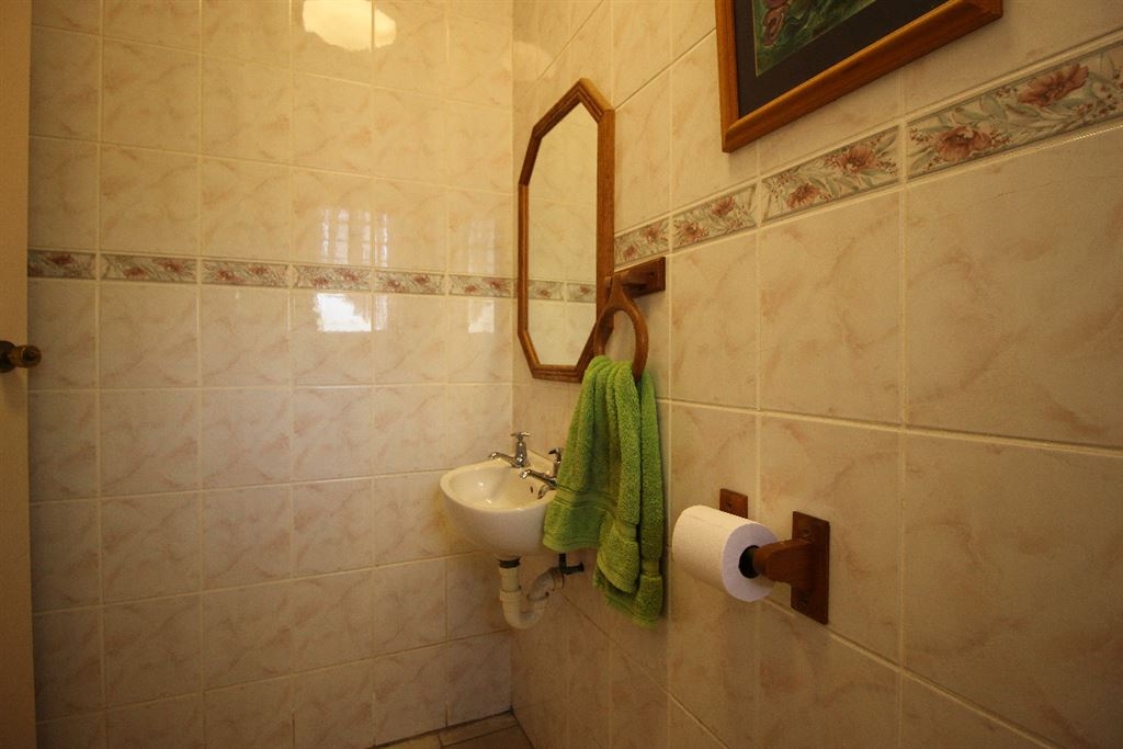 Bathroom of the lodge