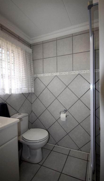 Downstairs - bathroom