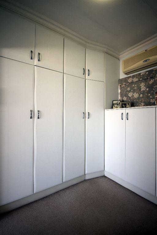 Walk-in cupboard off the main bedroom
