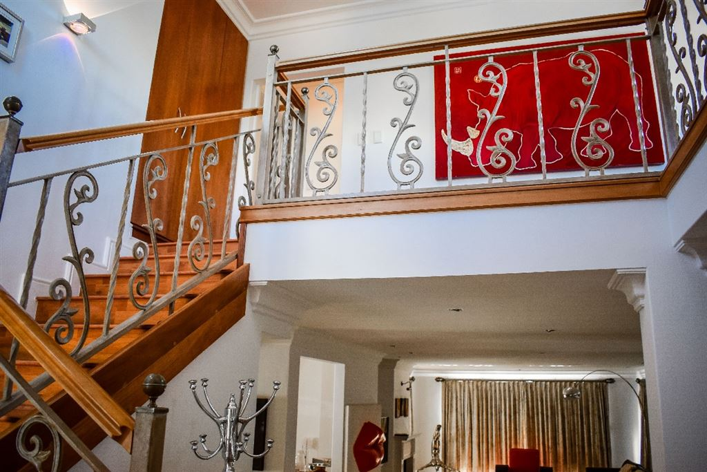 Stairway to the second floor