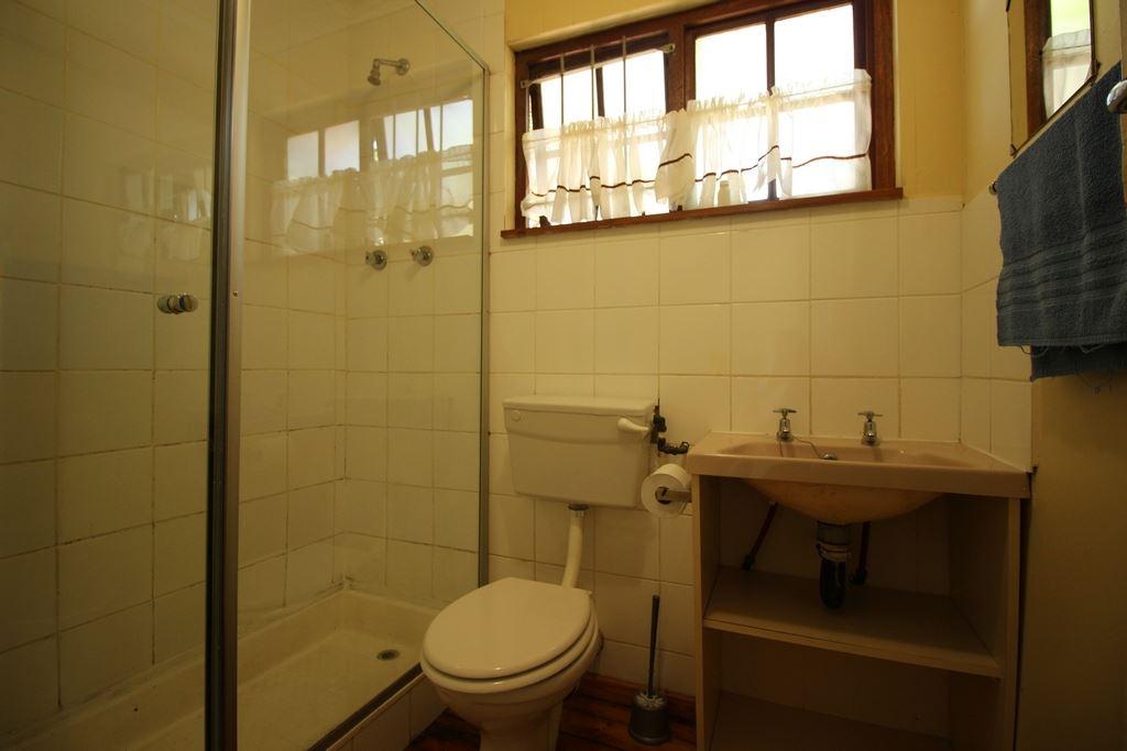 The bathroom of a family unit